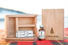 LONE WOODS BEARD OIL BOX KIT    Our Slide Top Beard Kit is the perfect gift for…