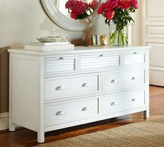 awesome pottery barn white dressers with 7 drawers