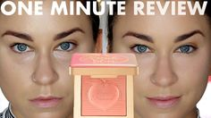 NEW! Too Faced Peach Blur Smoothing Powder | ONE MINUTE REVIEW! Beauty B... #toofaced #sephora #peachcollection