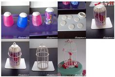 Bird cage step by step...