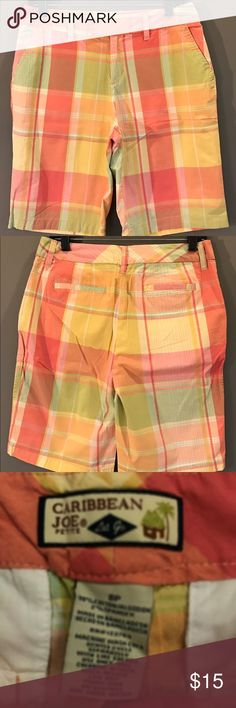 Shorts Do these say summer or what? They are in excellent condition. Please ask any questions, I want you to be happy with your order! Caribbean Joe Shorts Bermudas