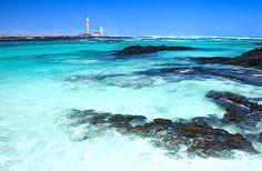 Playa de los charcos, El Cotillo