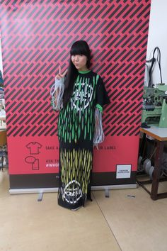 """""""Deconstructed t-shirt amazingness created by Dr Noki and students at Upcycling Workshop Slow Fashion, Ethical Fashion, Revolution Poster, Upcycling Ideas, Deconstruction, Human Rights, Industrial Style, Shirt Dress, T Shirt"""