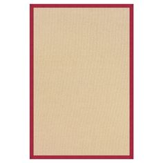 "Athena Wool Accent Rug - Red (1'10"" X 2'10"")"