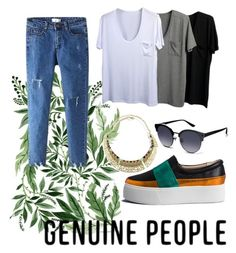 """""""Genuine People"""" by dreamer1357 ❤ liked on Polyvore featuring genuinepeople"""