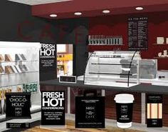 cafe interior design ideas - Google Search
