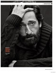 Adrien Brody Covers GQ Germany November 2014 Issue image Adrien Brody GQ Germany November 2014 Cover Photo Shoot 006