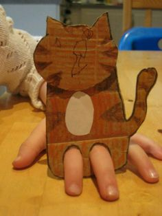 Cardboard animal. [Fair Book Description] Homemade Puppet  Ideas on page 16 and 24 of the Clover Kids manual, but any puppet will work.   [Pawnee County Tag Information]  Clover Kids, Dept Z, Div 10, C) Class 901
