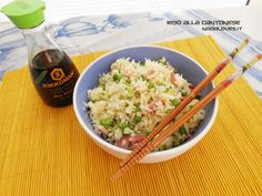 Riso alla Cantonese Potete vedere la ricetta cliccando su (http://noodloves.it/ricetta-originale-del-riso-alla-cantonese/)