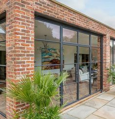 Brick Extension, House Extension Design, Extension Designs, Extension Ideas, Brick Design, Door Design, House Design, Outdoor Decking, Brick Cladding