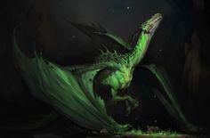 Dragon, Darya Kojemyakina on ArtStation at https://www.artstation.com/artwork/odWxw