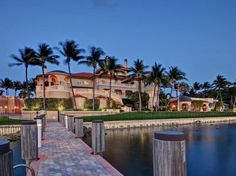 Oceanfront Mansion in Manalapan, Florida
