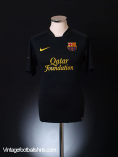 78eaac98868 2011-12 Barcelona Away Shirt XL Football Kits