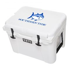 Check out 35 Quart Skipjack YETI Cooler from Southern Tide