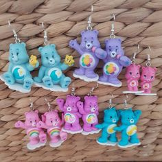 Blue Cheer, Bear Cupcakes, Funky Earrings, Tattoo Choker, Kilt Pin, Clover Green, Colorful Bracelets, Christmas Nails, Jewelry Necklaces