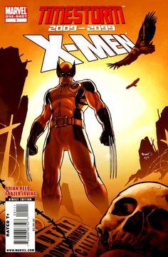 Timestorm 2009 2099 X-Men 1 Marvel Comic books modern age cover X-men Mutants Marvel 2099, Marvel Comics, Marvel Comic Books, Comic Book Heroes, X Men, Image Title, Comics Online, Comic Covers, Wolverine