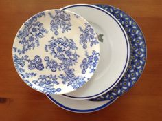 Desert plates 4 pieces. by CafeFinlandiaHOME on Etsy