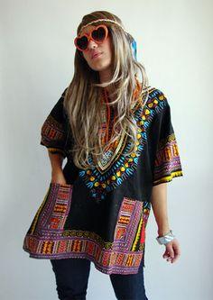 Half camo costume + Half hippie costume = War & Peace