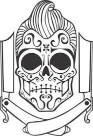 Resultado de imagem para como desenhar caveira mexicana corpo inteiro