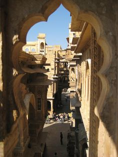 Jaisalmer window carving