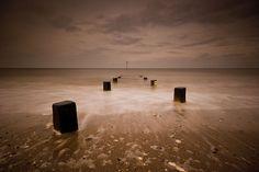 pathway to the sea, Hunstanton Beach