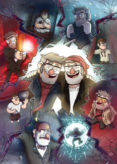 This makes me wanna sit in a corner in the dark alone and cry Stan and Ford are my favorite twins in Gravity Falls, and they also are in my top 3 of twins of fandoms. Gravity Falls Anime, Gravity Falls Fan Art, Gravity Falls Comics, Garden Falls, Gavity Falls, Desenhos Gravity Falls, Dipper Pines, Fall Wallpaper, Book Art