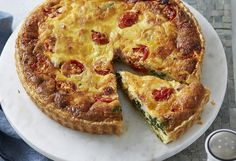 """Everyone will want to """"quiche"""" the chef when they try this incredible dish. It's versatile, so you can serve it for lunch, brunch, dinner…maybe even breakfast!"""