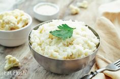 A healthy alternative to rice, Cauliflower Rice is surprisingly delicious, easy to make, and packed with protein and fiber!
