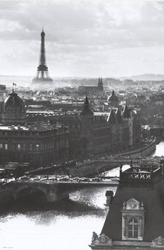 A great poster of a beautiful view of Paris, France - overlooking the River Seine with the iconic Eiffel Tower in the distance! Fully licensed. Ships fast. 24x36 inches. Need Poster Mounts..?