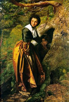 John Everett Millais, The Proscribed Royalist, 1651 (1853) Lord Lloyd Webber