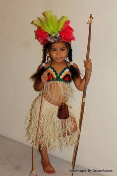 Amerindian Girl 4