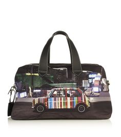 Vegas Print Holdall by Paul Smith Accessories The Office Shirts, Luxury Gifts, Paul Smith, Harrods, Vegas, Vibrant Colors, Fashion Accessories, Floral Prints, Mini