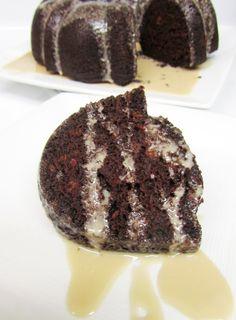 Chocolate Root Beer Bundt Cake