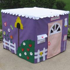 @Darcy VerDouw, Here is another variation of the card table playhouse!       http://www.makeandtakes.com/giveaway-miss-pretty-prettys-card-table-playhouse
