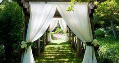 Ceremony/Reception In Same Place. #weddings #ceremony #reception