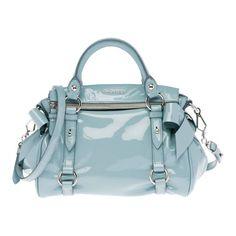 Miu Miu Small patent nappa leather top-handle bag