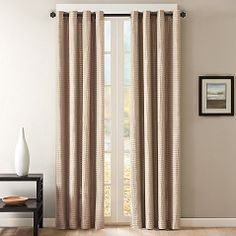 "Bed Bath Skyline Grommet Window Curtain Panels, 50"" x 95"", $59.99/panel"
