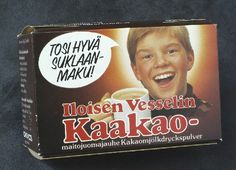 Iloisen vesselin kaakao, Chymos Lappeenranta Vintage Country, Retro Vintage, Old Commercials, Good Old Times, Teenage Years, Vintage Recipes, Old Toys, Grocery Store, Childhood Memories