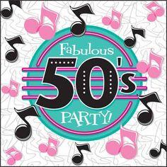 1950s Party Napkins