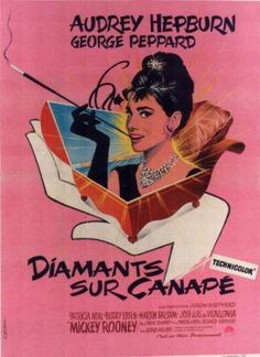 breakfast at tiffany's french poster