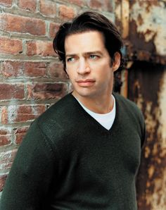 Harry Connick Jr in green sweater