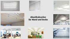 vitAcoustic - Akustikabsorber für Wand und Decke. Akustikabsorber, das sind transparente oder transluzente Folien, die zusätzlich den Reflexionsschall und die Nachhallzeit senken.  Die Folien werden mit Abstandshalter individuell an Decke oder Wand befestigt. Dabei ist die Konstruktion auch geprüft und zugelassen für thermoaktive Decken (Gutachten).  Transparente und transluzente Folien können bei der 2-lagigen Variante auch kombiniert werden.