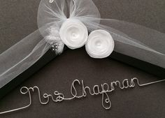 Bride, Bridal Hanger, Wedding Dress hanger, Custom Wedding Hanger, Shower Gift, Wedding. Shower