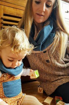Cuellos para bebé, niñ@s y mamás en www.lapanlapan.es