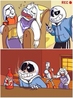 Poor Sans... Toriel! At least he didn't do something that would hurt you!!