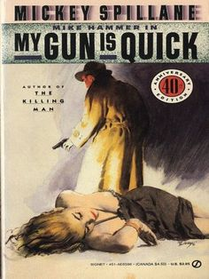 Another Spillane. The Mike Hammer books are very harsh.  I really liked the milder stories in the  magazines better. (Kindle). very slow read. reviewer in another site said too predictable, and Hammer was dumb in this book.  I agree