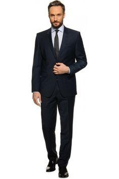 Heren kostuums - Mishumo Franco, Slim Fit marineblauw