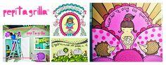 PEPITAGRILLA  Ilustradora de sentimientos, escritora de ilustraciones y decoradora de corazones vacíos.