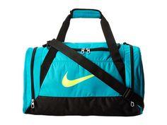 Nike Brasilia 6 Small Duffel Turbo Green/Black/Volt - Zappos.com Free Shipping BOTH Ways