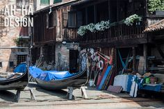 A Boat Dock in Venice 8 x 12 Photograph by AhHaDesign on Etsy, $20.00